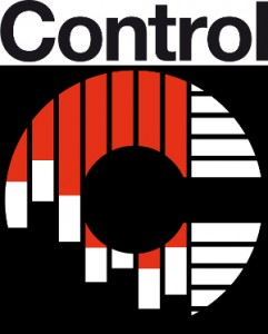 Das Logo der Messe Control in Stuttgart
